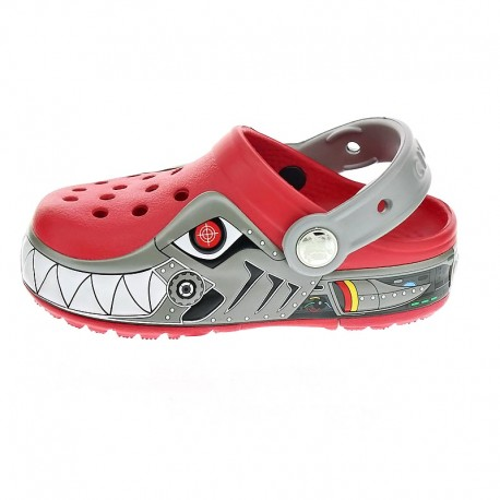 CrocsLights Robo Shark Clog Ps