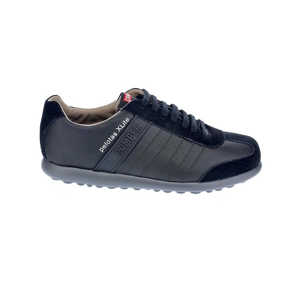Camper Zapatos de Cordones Negro: : Zapatos y complementos
