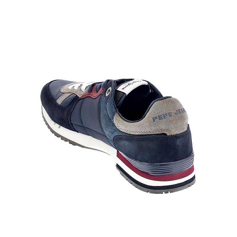 Pepe Jeans Tinker Basic Azul Zapatos con cordón Hombre (30501 ... 196f8248ed