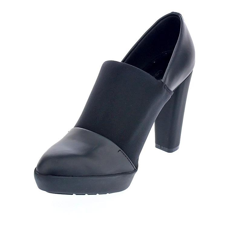 Klein ¡entrega Mujer 30466 Negro Tacón Calvin Cameo 24h Zapatos X7YBdnx0q