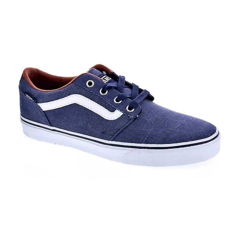 vans chapman stripe azul zapatillas bajas 32742 entrega 24h gratis. Black Bedroom Furniture Sets. Home Design Ideas