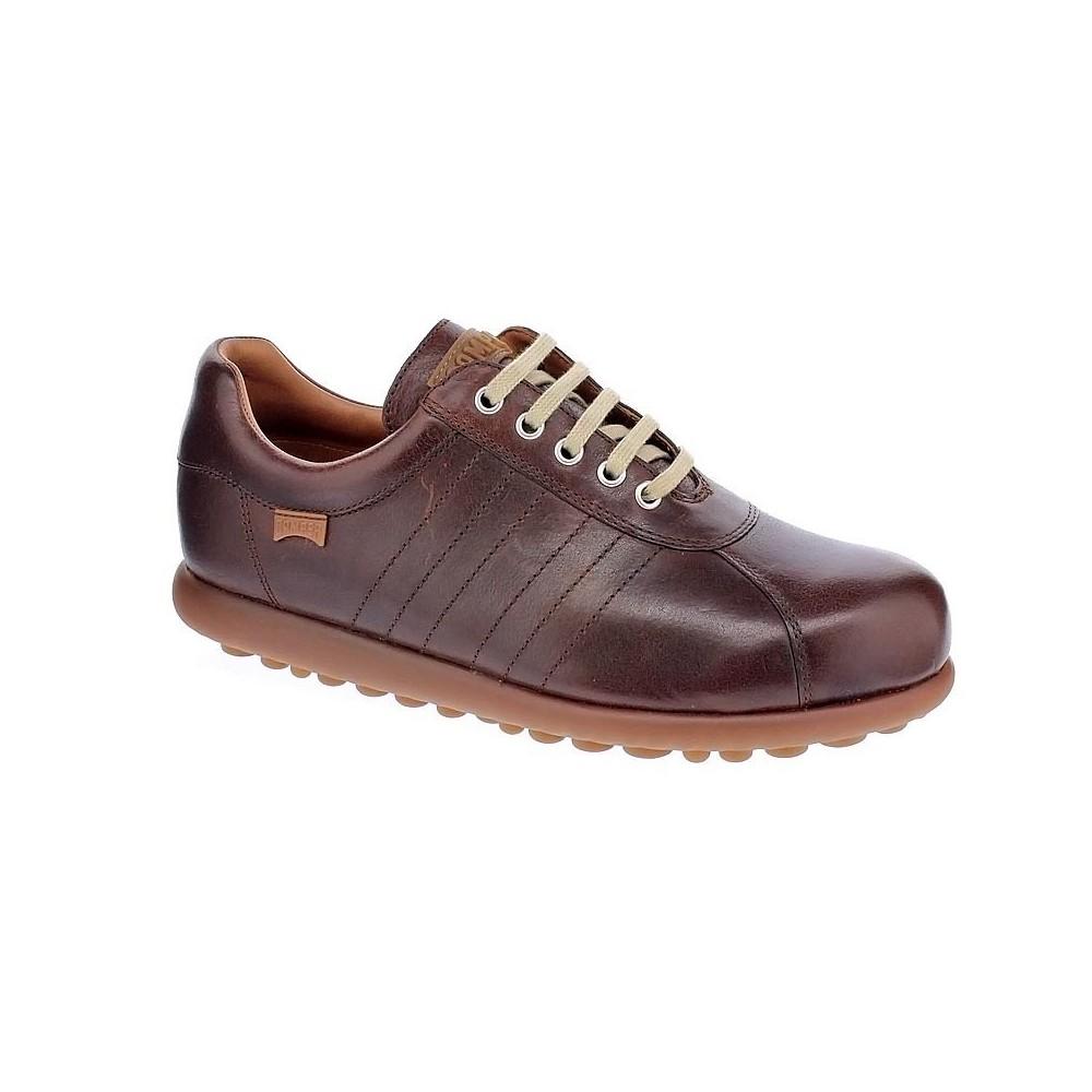 Camper Zapatos de hombre marrones con cordones Marrón