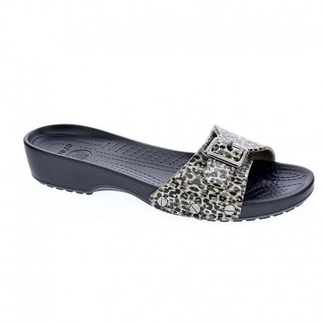 Sarah Leopard Sandal