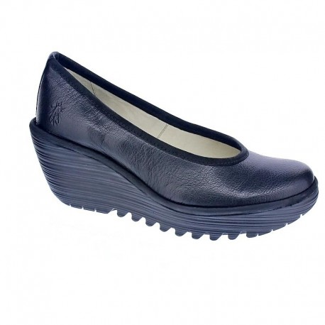 Fly London Yalu - Mocasines Mujer Negro Talla 36 NSmg0NZMVz