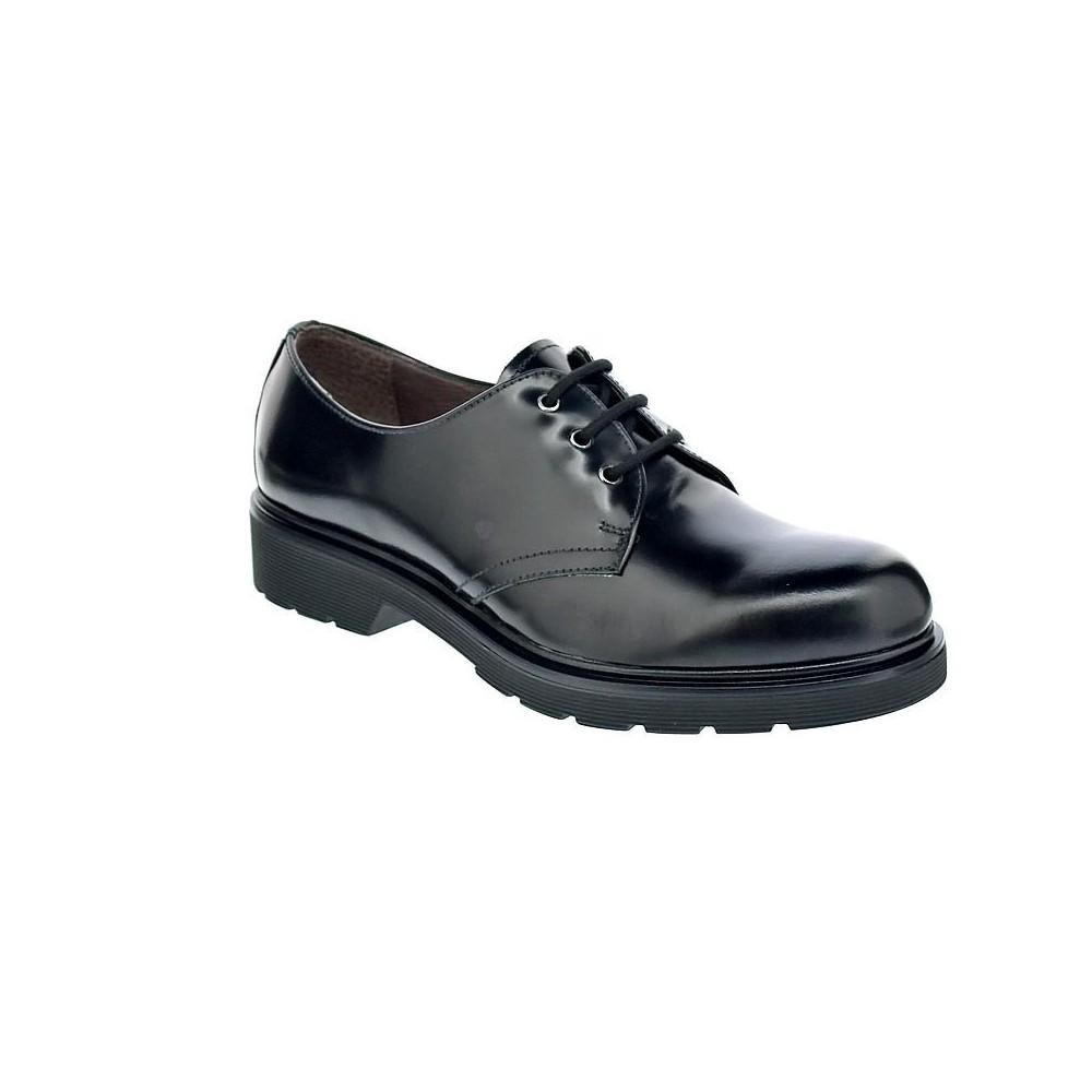 Mujer Negro Zapatos Cordón Con Nero 6172 Giardini xwqYXzWUnp