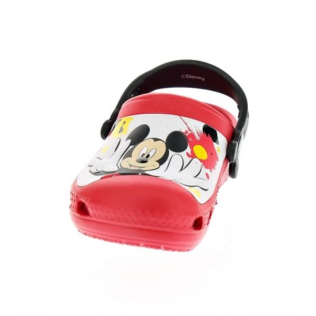 Cc Mickey Paint Splatter Clog