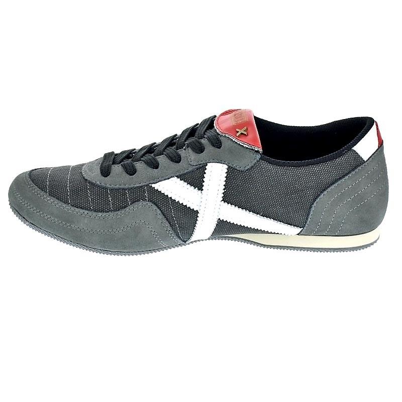 Calzado deportivo para hombre, color gris , marca MUNICH, modelo Calzado Deportivo Para Hombre MUNICH SOTIL 322 Gris