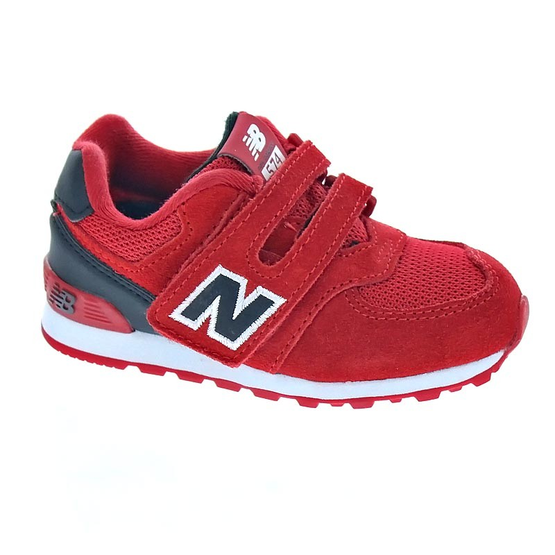zapatillas new balance niño rojas