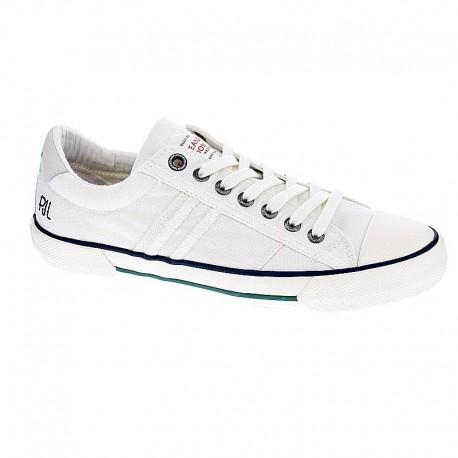 sortie rabais vente 2015 Pepe Jeans Lavé Serthi - Chaussures Basses Homme Blanc 41 Z7JWgVKmF