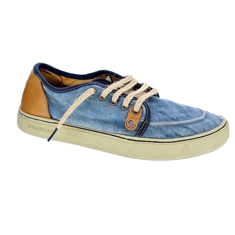 Satorisan Sukkiri - Zapatos con cordón Hombre Azul Talla 43 KZs71O1O
