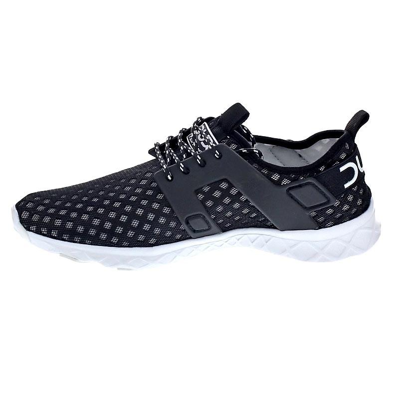 Dude Shoes - zapatilla baja hombre , color negro, talla 44