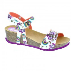 Desigual Strips Wedge