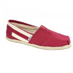 Toms Classic Red Stripe