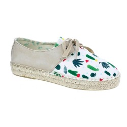 Tides Lace Up Cactus Linen