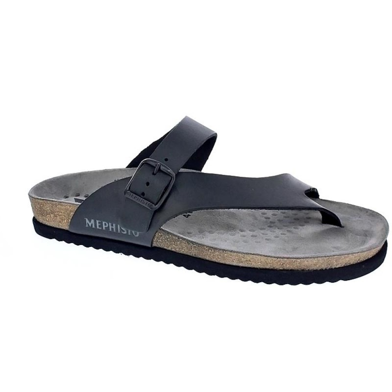 Mephisto Niels Chanclas Hombre Negro 44 bZNNnWx4mo
