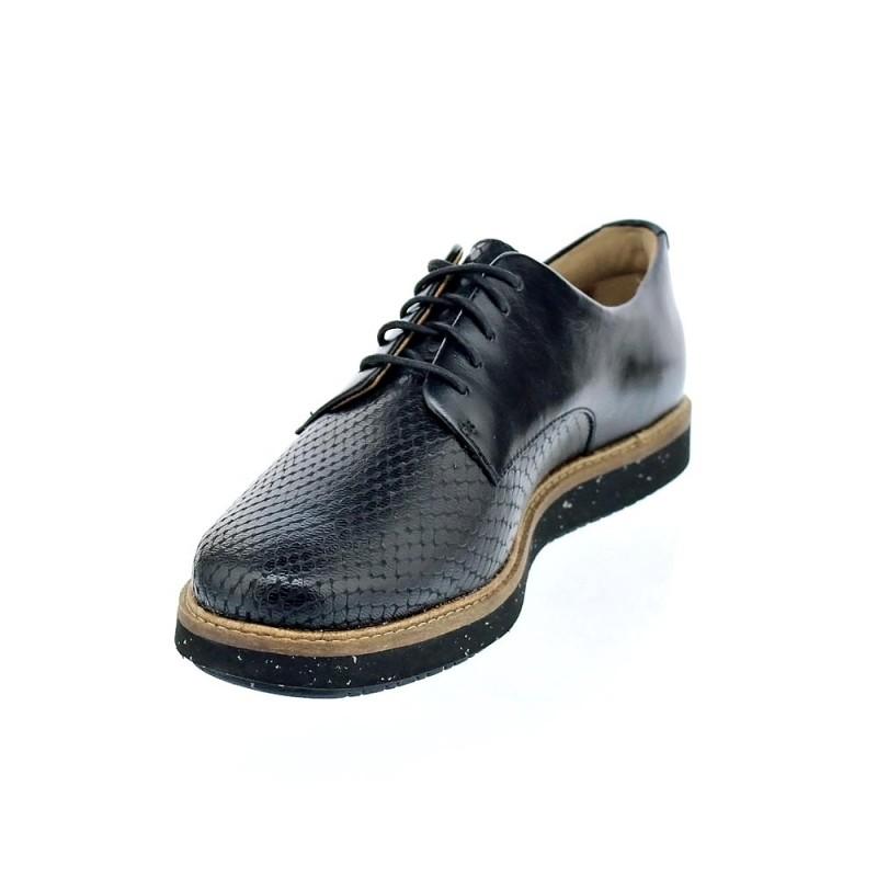 Glick Zapatos Cordón Negro Clarks Darby Con Mujer 26125092 WQrdxBCoe