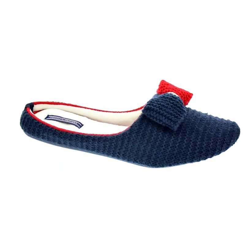 19cb72d2e32 Tommy Hilfiger Orion Azul FW0FW01963403 Pantuflas Mujer - ¡Entrega ...
