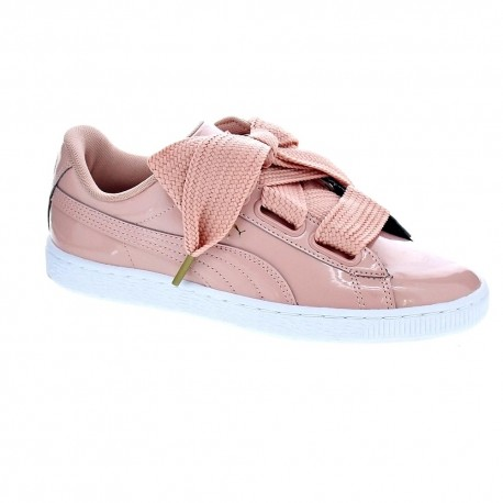 puma basket rosa