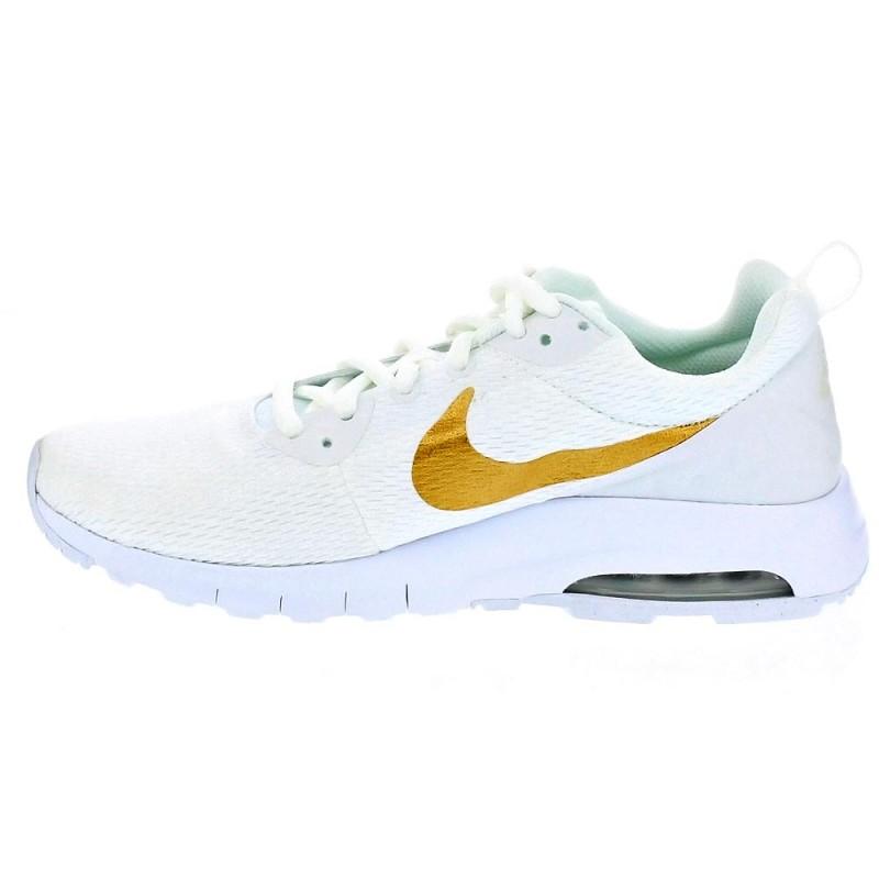 best cheap 688ae c322a 42 EU Nike Air Max Motion - Zapatillas Bajas Mujer Blanco Talla 38 Zapatos  blancos Adidas