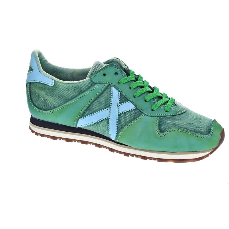 Zapatos verdes MUNICH Massana para hombre NDan2xt9v