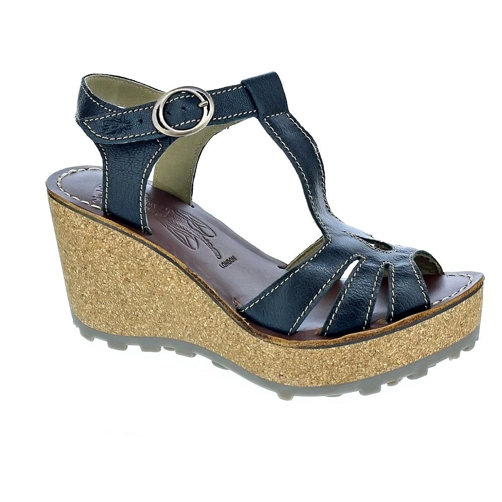 Fly-London-Gold-Mousse-Sandalias-Mujer