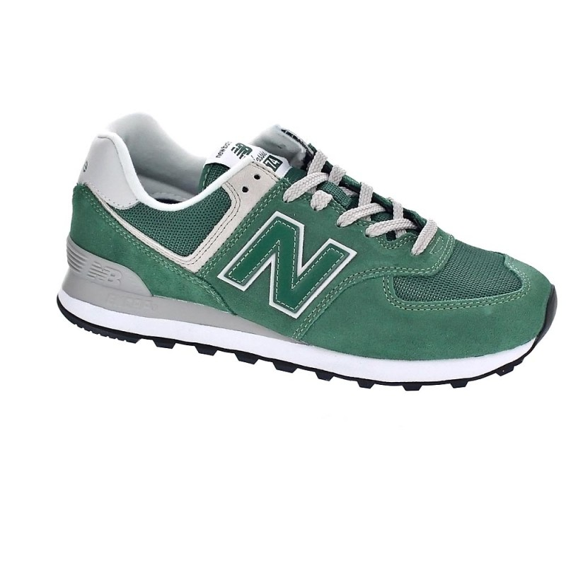 new balance 574 verde hombre
