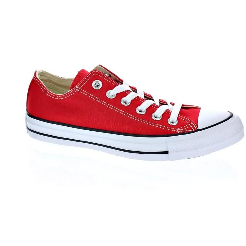 Converse Zapatillas All Star Chuck Taylor bajas rojas (talla 38) MMSHO