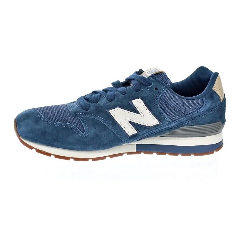 new balance hombres azul 996