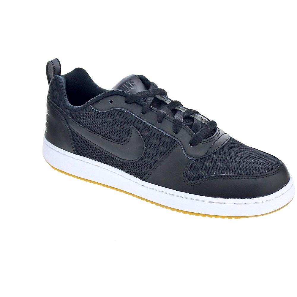 Hommes Nike Noir Baskets Basses Borough Court xBqwzHO