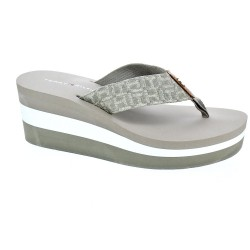 Metallic Mid Beach Sandal