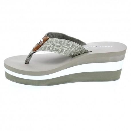 Metallic Mid Beach Sandal
