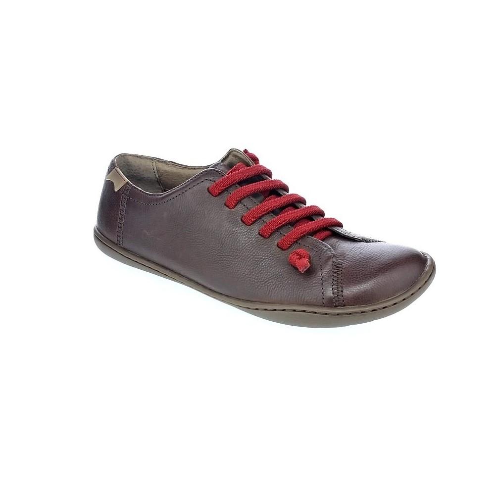 Camper-Peu-Zapatos-con-cordon-Mujer-Marron