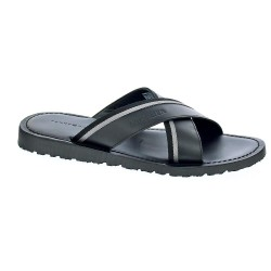 Tommy Hilfiger Casual Leather Cross Sandal
