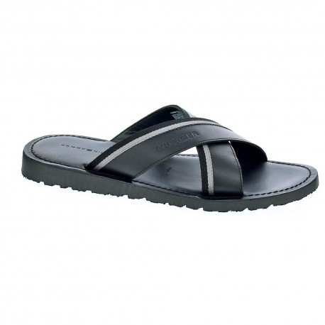 Casual Leather Cross Sandal