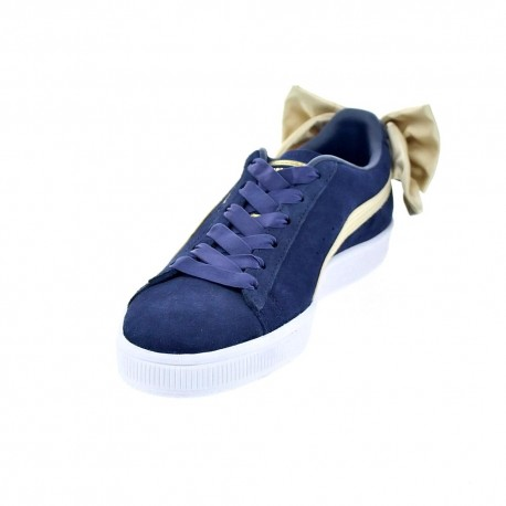Suede Bow