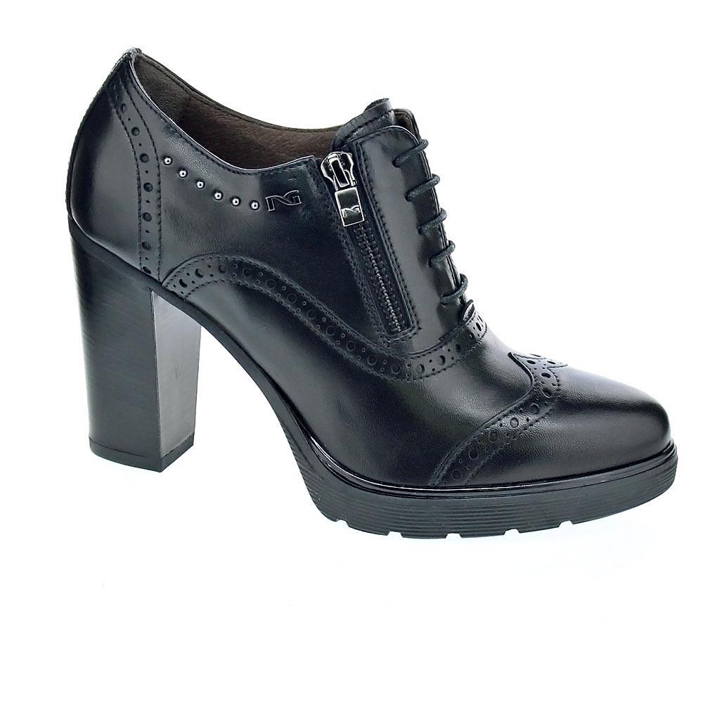 Nero Giardini 6380     con cordón   Mujer  Negro 964bc9