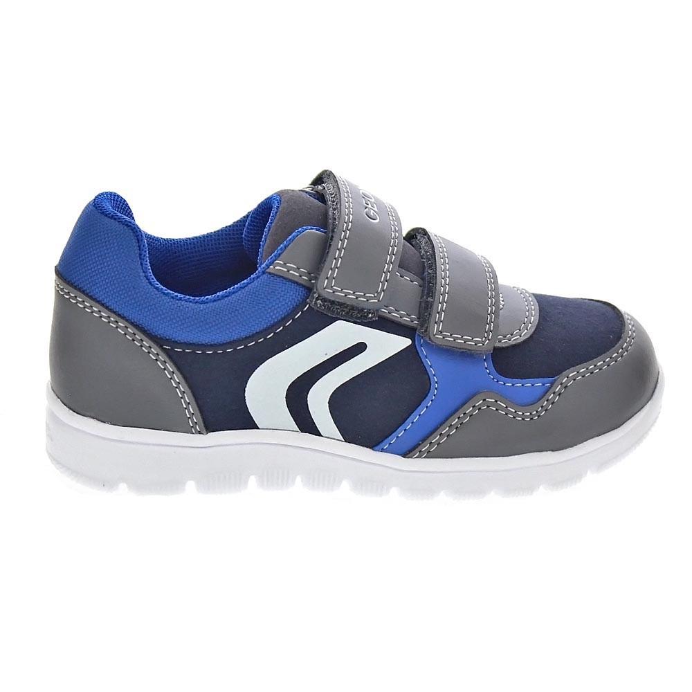 Geox-Xunday-Boy-Zapatillas-Nino-Gris