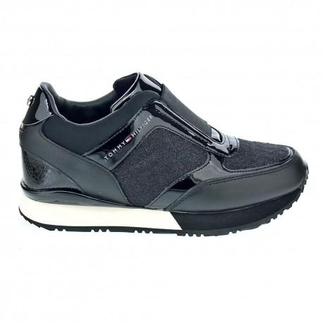 Elastic Wedge Sneaker