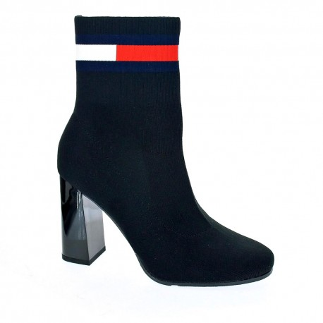 Sock Heeled Boot