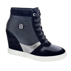 Tommy Hilfiger Camo Metallic Dres Sneaker
