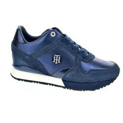 Tommy Hilfiger Camo Metallic Wedge Sneaker