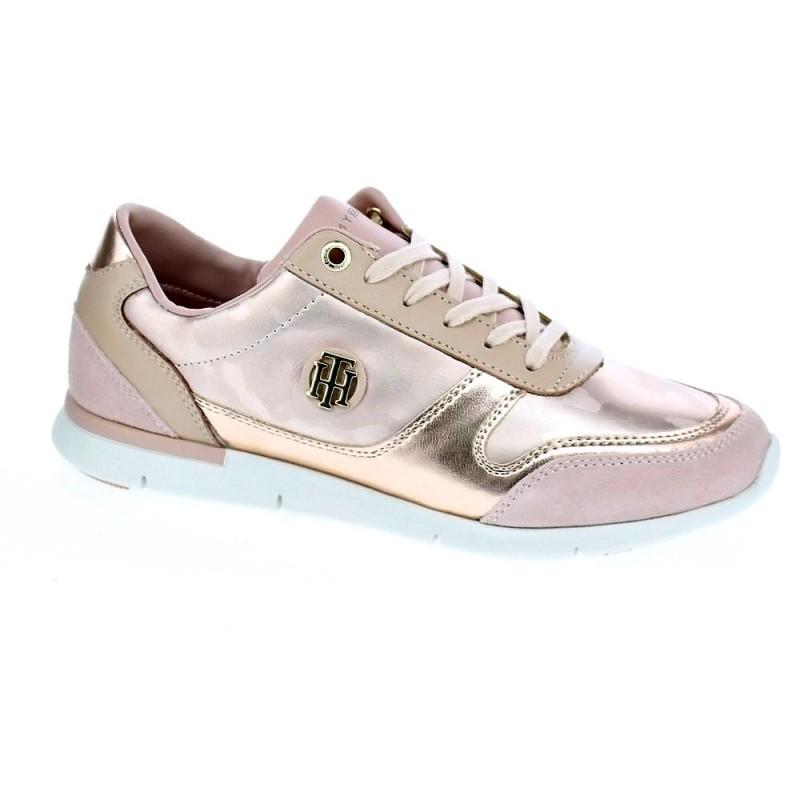 Camo Metallic Light Sneaker