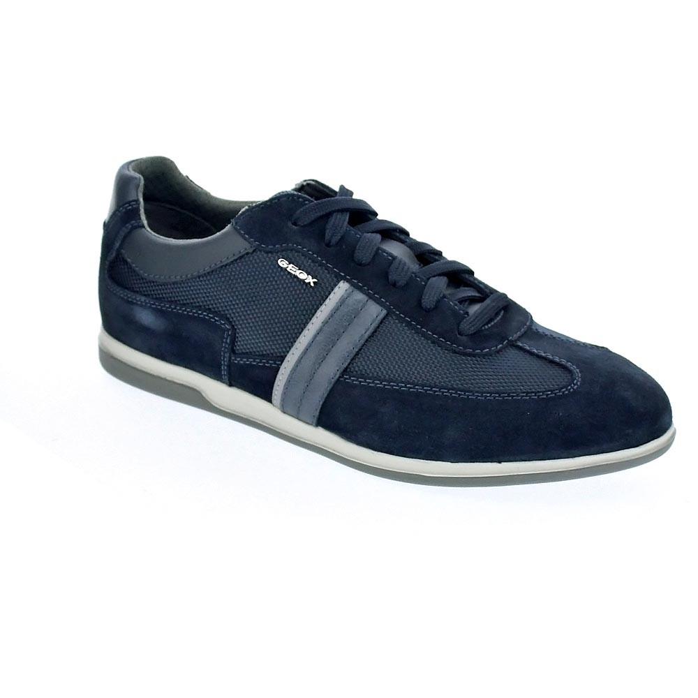 Geox Renan  con Zapatos con  cordón  Hombre  Azul c1af1c
