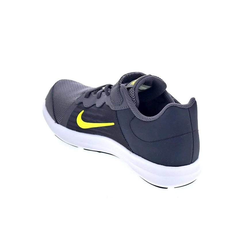 online store 2e5ef 457fa Nike Downshifter 8 Gris 922854 008 Zapatillas Niño - ¡Entreg