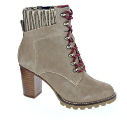 Tommy Hilfiger Basic Hiking Heeled Boot Suede