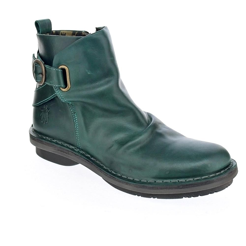 Fly Verde London Mujer Fico Botines 8006 FrzwFSx
