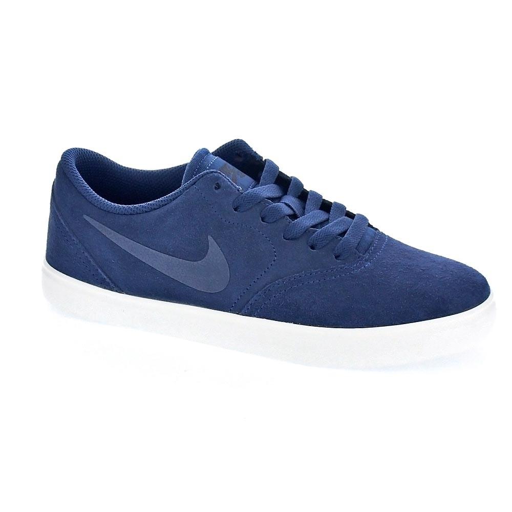 big sale d8e4f 393c4 Nike-Sb-Check-Suede-Zapatillas-Nino-Azul-36652
