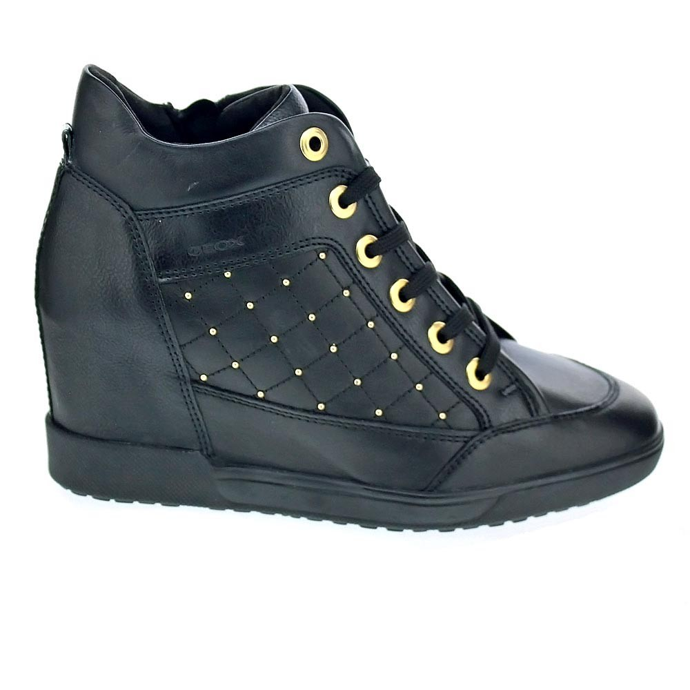 Geox Mujer Carum  Zapatillas bota  Mujer Geox  Negro d099b8
