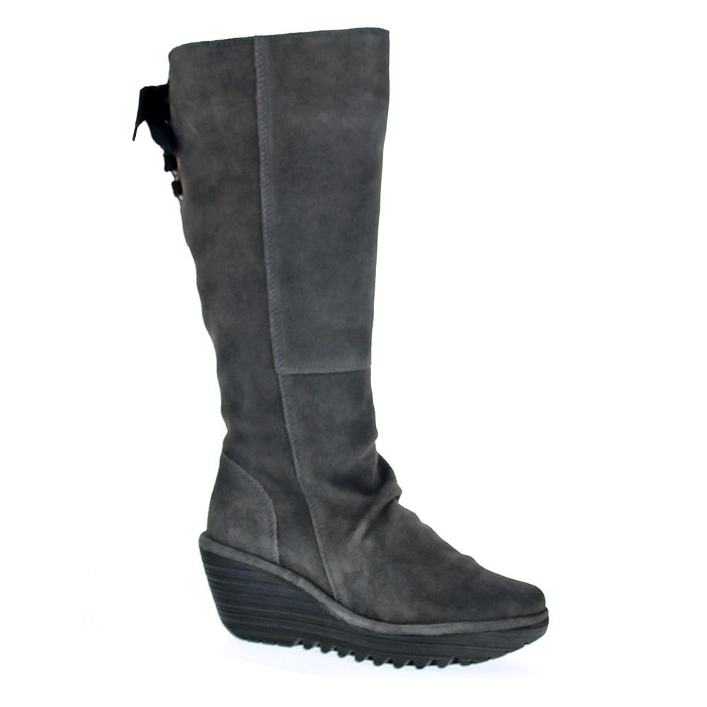 London Gris 7040 Botas Mujer Fly Yust Sdq7CSw
