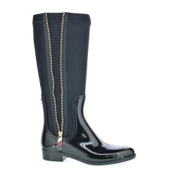 Tommy Hilfiger Material Mix Long Rain Boot